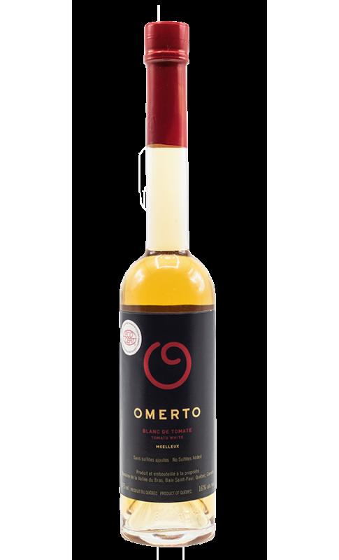 Omerto Moelleux - BIO - Vin de tomates - Vin Canadien